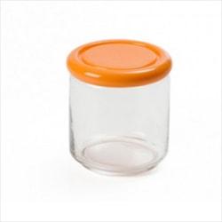 Sanaliving Förvaringsburk Rund 0,75L Anti-Bakteriell Orange