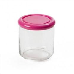 Sanaliving Förvaringsburk Rund 1 L Anti-Bakteriell Rosa