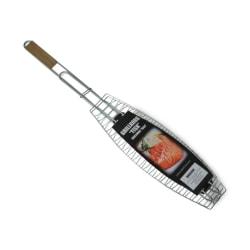 Senso Kitchen Grillkorg Fisk 65cm Silver