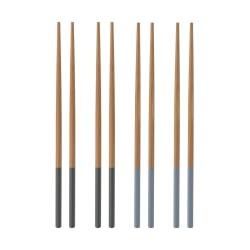 TYPHOON Ätpinnar 4 par  Bamboo