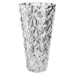 Vas Elegant Kristall Konisk Höjd 25,5 cm Dorre  Kristall