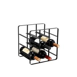 Vinställ Vinia 9 flaskor Dorre Svart