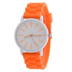 Damklocka färgglad m silikonarmband - Olika färger Orange