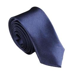 Smal / slimmad modern slips - mörkblå Mörkblå