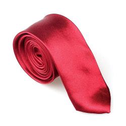 Smal / slimmad modern slips - vinröd Röd