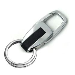 Snygg nyckelring i metall Black