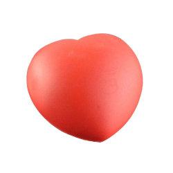 Stressboll i foam - Hjärta Röd