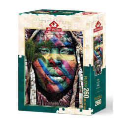 Art Puzzle - Graffiti, Sao Paulo 260 bitar multifärg