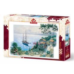 Art Puzzle - Hamnen 500 bitar multifärg