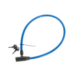 Atom Sports Vajerlås till cykel 65 cm  Blå