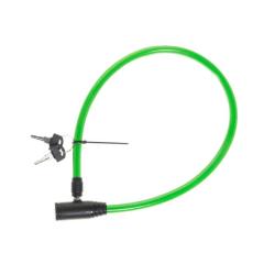 Atom Sports Vajerlås till cykel 65 cm  Grön