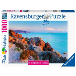 Beautiful Places Pussel - Vid Medelhavet 1000 bitar multifärg