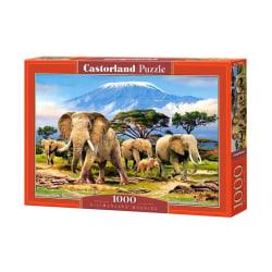 Castorland Morgon vid Kilimanjaro 1000 Bitars Pussel multifärg