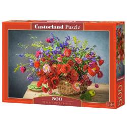 Castorland Pussel - Bukett med Vallmo 500 Bitar multifärg