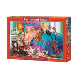 Castorland Pussel - Busiga valpar, 1000 Bitar multifärg