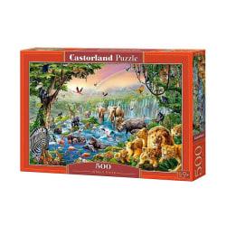 Castorland Pussel Djungelns Flod 500 Bitar multifärg