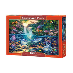 Castorland Pussel - Djungelparadis, 1500 Bitar multifärg