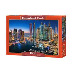Castorland Pussel - Dubai's Skyskrapor, 1500 Bitar multifärg