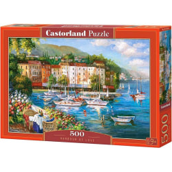 Castorland Pussel - Kärlekens hamn 500 Bitar multifärg
