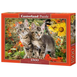 Castorland Pussel - Kattkompisar 1500 Bitar multifärg