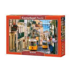 Castorland Pussel - Lissabons spårvagnar, 1000 Bitars multifärg