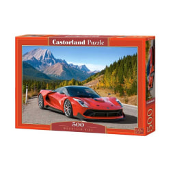 Castorland Pussel - Mountain Ride, 500 Bitar multifärg