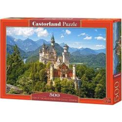 Castorland Pussel - Neuschwanstein Slott, Tyskland 500 Bitar multifärg