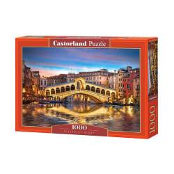 Castorland Pussel - Rialto om natten, 1000 Bitars multifärg