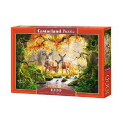 Castorland Pussel - Skogens kungligheter, 1000 Bitars multifärg