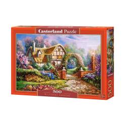 Castorland Pussel - Trädgårdarna i Wiltshire, 500 Bitar multifärg
