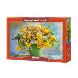 Castorland Pussel - Vårblommor i grön vas 1000 Bitar multifärg