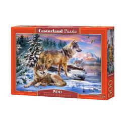 Castorland Pussel - Vargarnas land, 500 Bitars multifärg