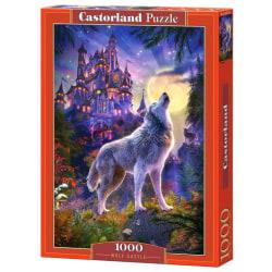 Castorland Pussel - Vargen i månskenet, 1000 Bitar multifärg