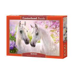 Castorland Pussel - Vita Hästar, 1000 Bitar multifärg