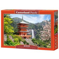 Castorland Seiganto-Ji Templet, Japan 1000 Bitars Pussel multifärg