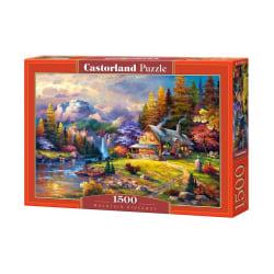 Castorland Tillflykt till Bergen 1500 Bitars Pussel multifärg