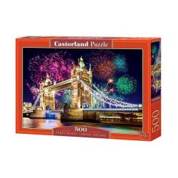Castorland Tower Bridge, London, England 500 Bitars Pussel multifärg