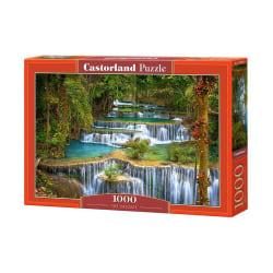 Castorland Vackra Vattenfall 1000 Bitars Pussel multifärg