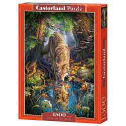 Castorland Varg i Vildmarken 1500 Bitars Pussel multifärg