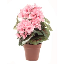 Konstgjord blomma Geranium Ljusrosa 33 cm