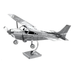 Metal Earth - Flyg, Cessna 172 Silver