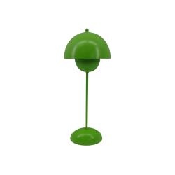 424 Bordslampa grön plåt grön