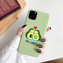 iPhone 12 & 12 Pro skal avokado myser avo-cuddles grön Grön one size