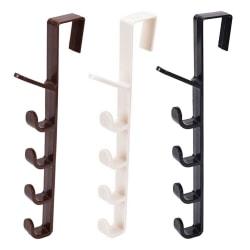 Hanging Rack Holder Hook Organizer Bag Towel Storage For Cupboar A black A