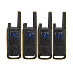 Walkie-Talkie Motorola T82 Extreme (4 Pcs) Svart Gul