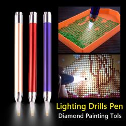 3st / parti Diamond Broderverktyg Luminous Pen 5d Diamond Paint