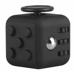 Fidget Cube - Stressleksak Black