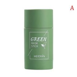 Grön tepinne naturlig mask aubergine rengörande por mask