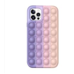 Pop it fidget leksaksskydd för mobiltelefon (för iPhone 11)