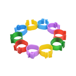 100 pcs Chicken Leg Bands Chicken Poultry Rings Pigeon Bird Ring
